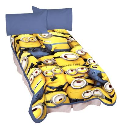 Minions Little Yellow Buddies Microraschel Blanket 小黄人抓绒毯 .8 可直邮.54