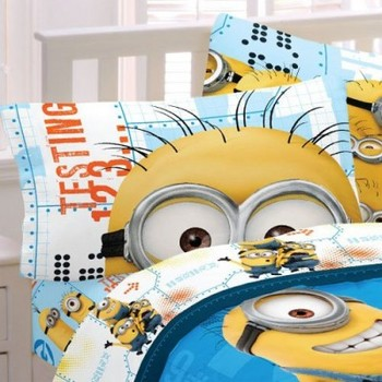 Minions Little Yellow Buddies Microraschel Blanket 小黄人抓绒毯